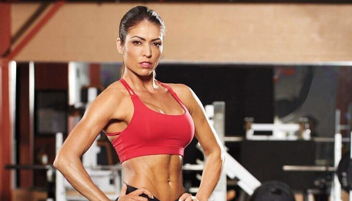 Спорт, девушка, плиометрическая тренировка