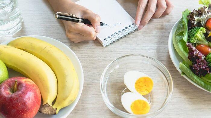Расписание диеты