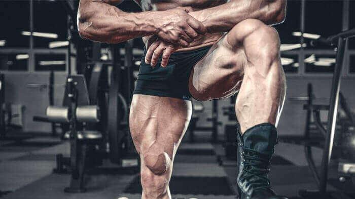 Мускулистые ноги