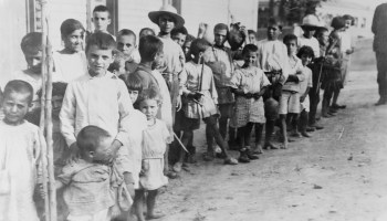 Greek and Armenian refugee children