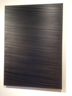 """Pierre Soulages, """"Peinture"""", 1989, huile sur toile."""