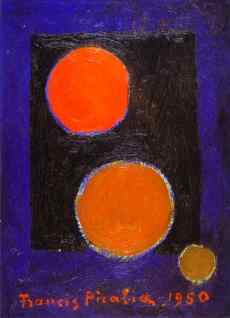 "Picabia, ""Encerclement"", 1950"