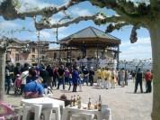 Primera ronda: musicalidad en la Plaza Mayor