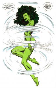 Pity, Green girl hulk naked can
