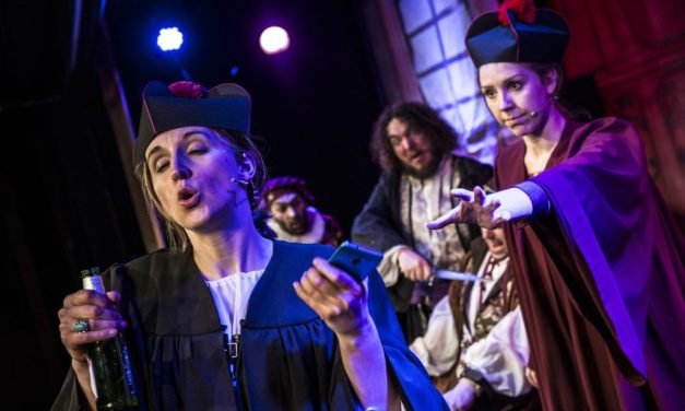 More than a Boozy Pantomime: Shit-faced Shakespeare's 'The Merchant of Venice'