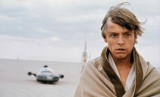 O jovem Luke