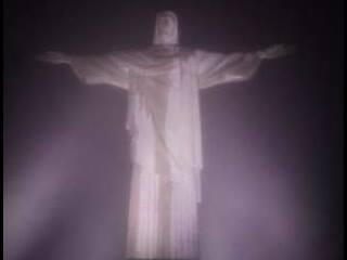 Mi vista del Cristo de Corcovado 8:00 pm
