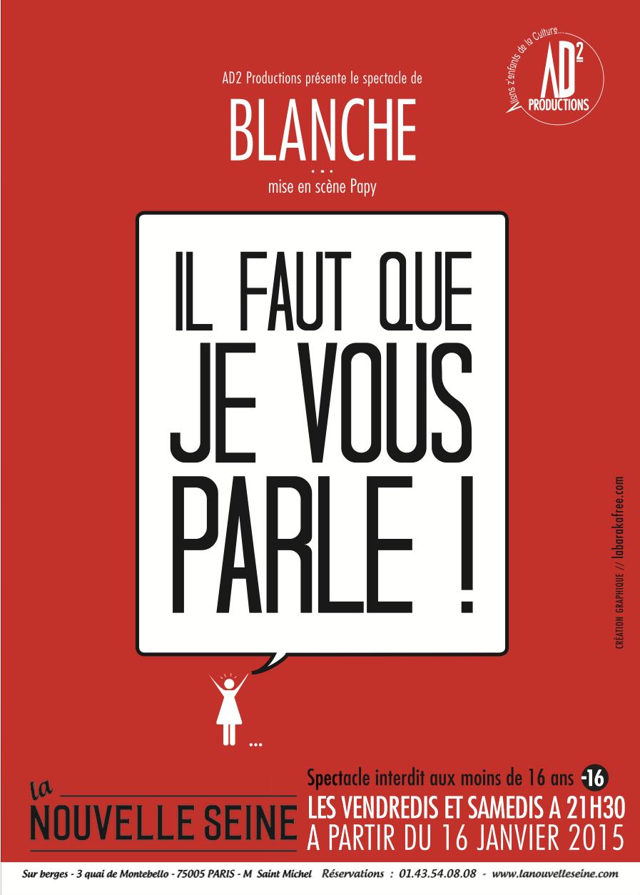 "Blanche Gardin Je Parle Toute Seule Rutube : blanche, gardin, parle, toute, seule, rutube, Parle, !"",, Blanche, Gardin, (m.e.s., Papy), Culturopoing"