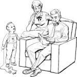 https://openclipart.org/detail/181806/reading-family-by-liftarn-181806