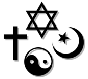 http://commons.wikimedia.org/wiki/File:Religion_icon.svg