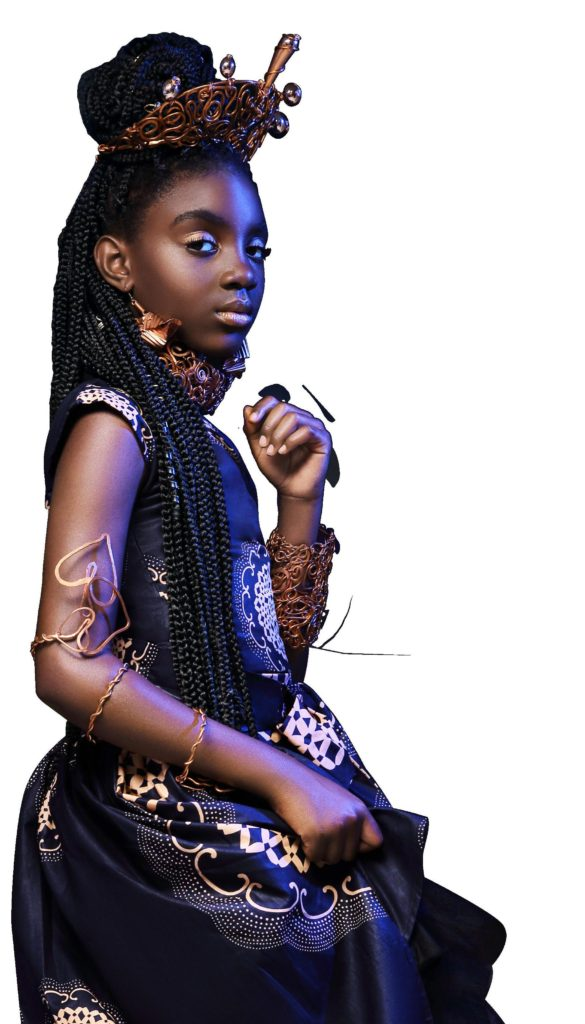 Princess Obsidian. LaChanda Gatson's African American Princesses