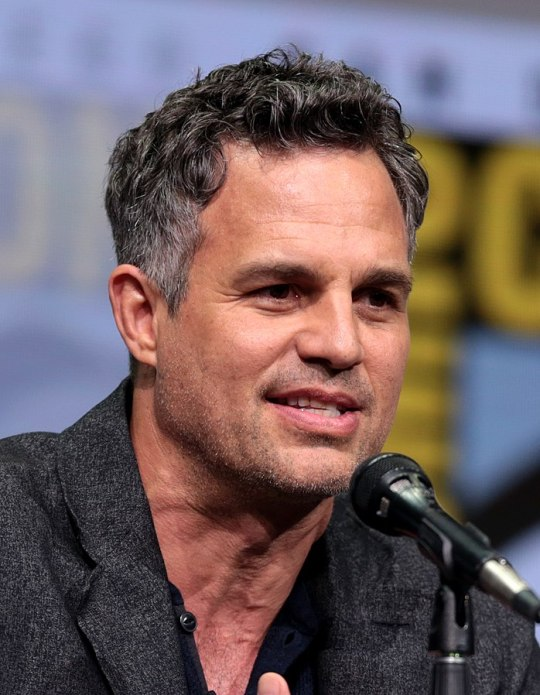 Image of Mark Ruffalo at ComicCon. His cultural diversity is shown in his diverse upbringing.