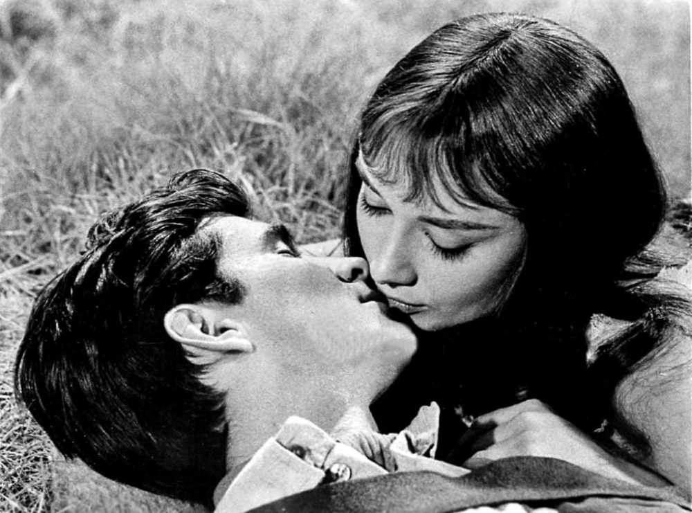Still from film starring Audrey Hepburn and Anthony Perkins.