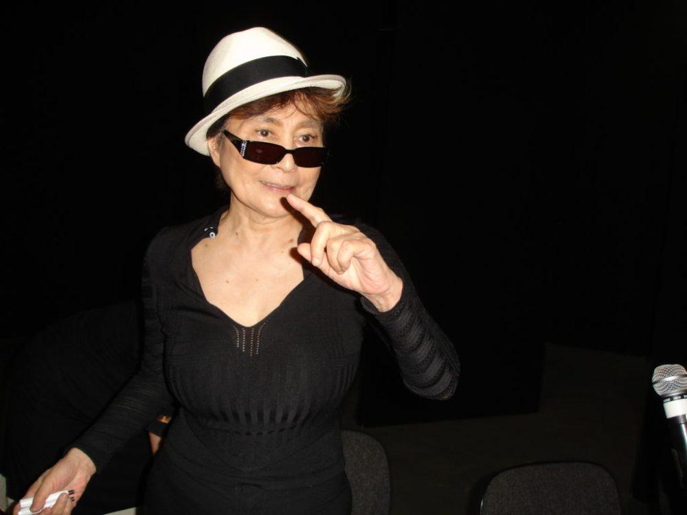Yoko Ono at the Museum of Contemporary Art, Sao Paulo