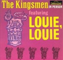 Louie Louie歌曲其後被收錄於《The Kingsmen In Person》