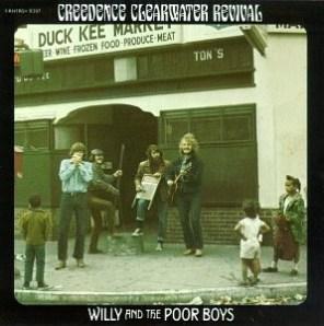 歌曲Fortunate Son被收錄於專輯《Willy and the Poor Boys》