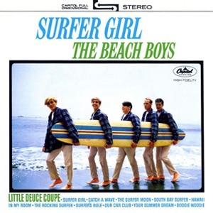 歌曲In my room被收錄於專輯《Surfer Girl》// 圖片來源 網上