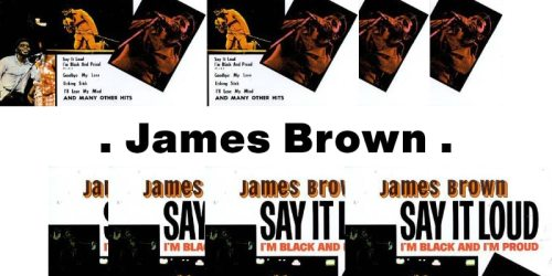 Say It Loud, I'm Black and I'm Proud – James Brown:歌詞及意思