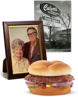 George and Ruth Culver, Their First Restaurant and the ButterBurger
