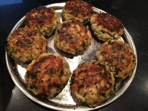 Cod Cakes in Tomato Sauce