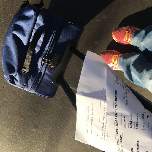 suitcase London