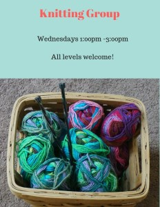 Knitting Group @ Cumberland County Public Library