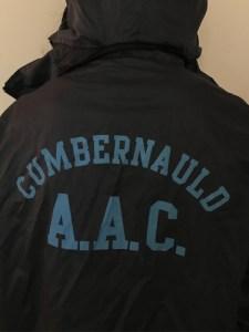 Photo of athlete wearing Cumbernauld Amateur Athletics Club jacket