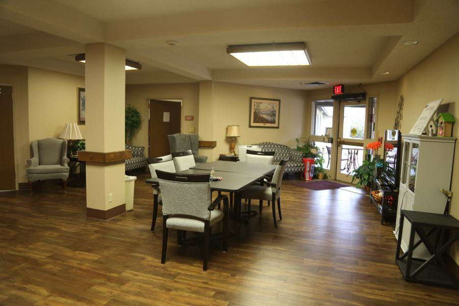 Assisted Living Lobby View
