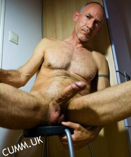 hung hairy daddy silver old mature