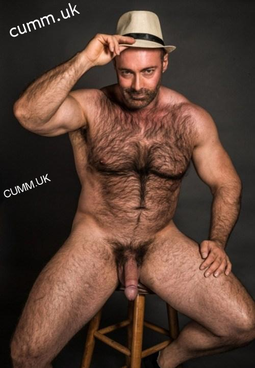 hairy-chest-flaccid-cock-mature-daddy-salt-pepper