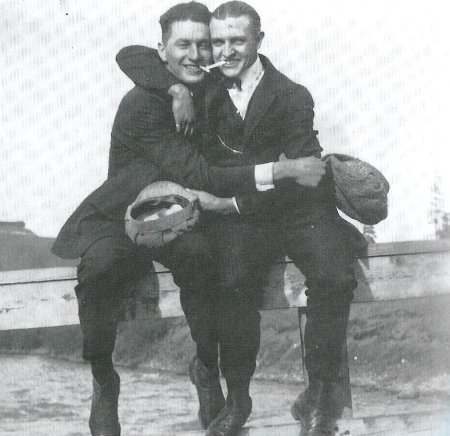male loving male old Victorians