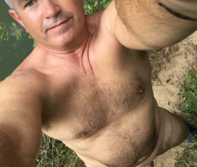 Barechested Horny Dad Naked In Woods The Art Of Hapenis