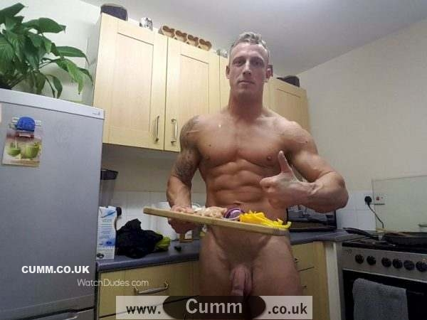 muscle lad naked chef fantasy