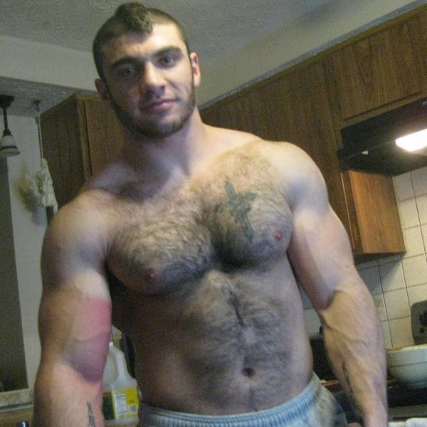muscle dude barechested