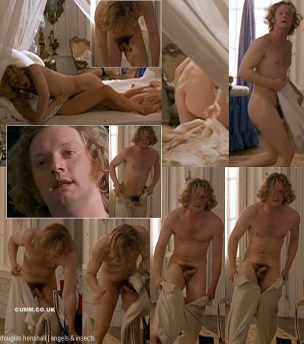 Actor Douglas Henshall full frontal nude scene.