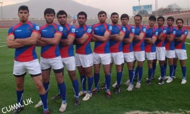 Afghan Rugby Squad