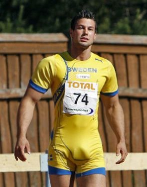 Big Bulge Bjorn Barrefors Swede decathlete