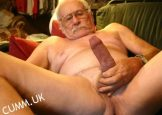 CURIOUS STRAIGHT hung grandpa