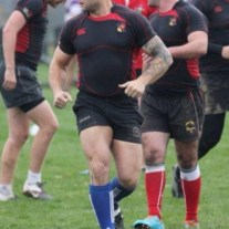 Colby Jansen pro rugby player
