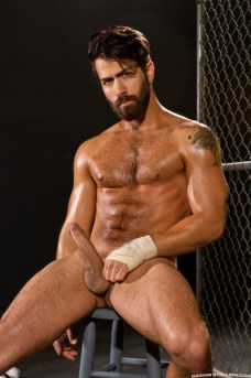 Hunky porn star Adam Ramzi from