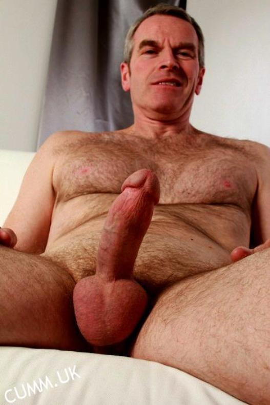 JELQED COCKS silver daddy