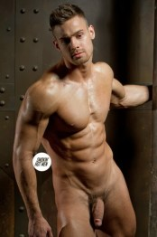 KIRILL DOWIDOFF naked male model cock exposed