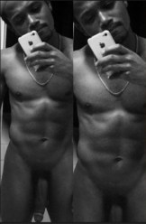Romeo Miller exposing his celebrity long flaacid cock bet that erects nicely