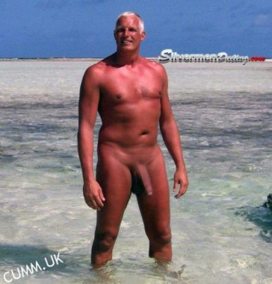 big beach cock muscle daddy