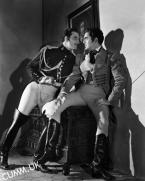 "big black leather boots BASIL RATHBONE AND TYRONE POWER IN ""THE MARK OF ZORRO"" (1940)"