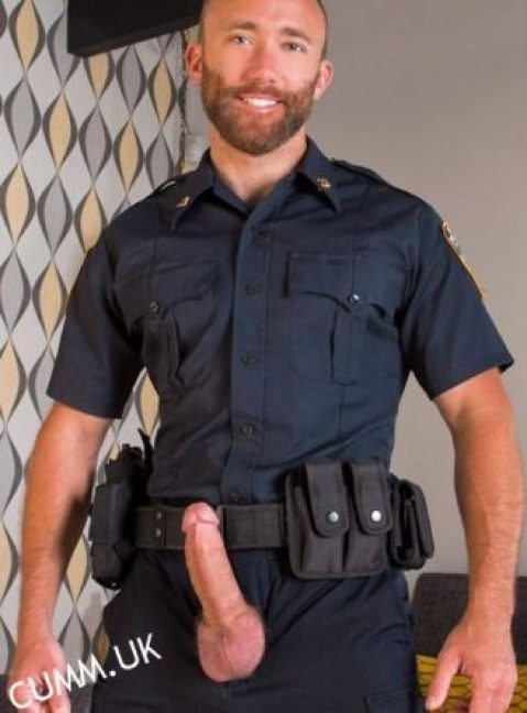 Really really sexy I love men in uniform especially police officers I guess it's probably the authority figure that I find so appealing