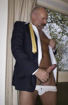 daddy suit erection
