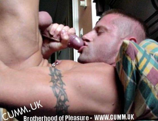 deepthroating myself inked 2
