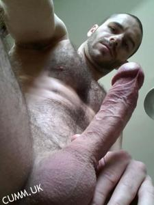 hung hairy chest sexy lips