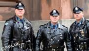 hot leather cops
